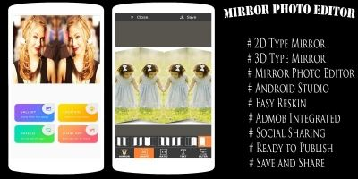 Mirror Photo Editor - Android App Template