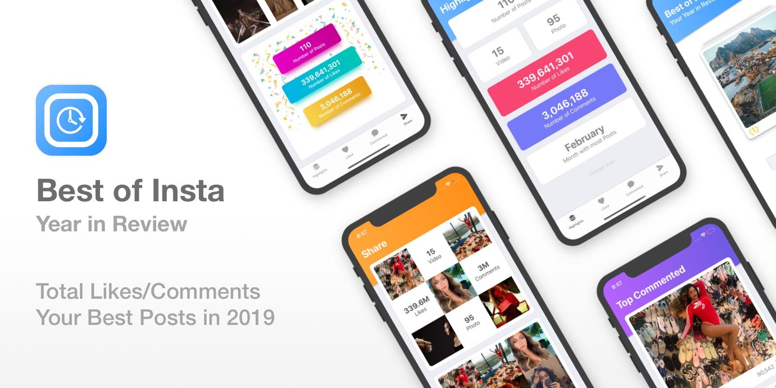 Best of Insta - Instagram Year In Review iOS