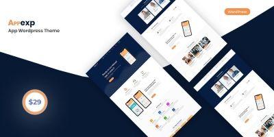 Appexp - App WordPress Theme
