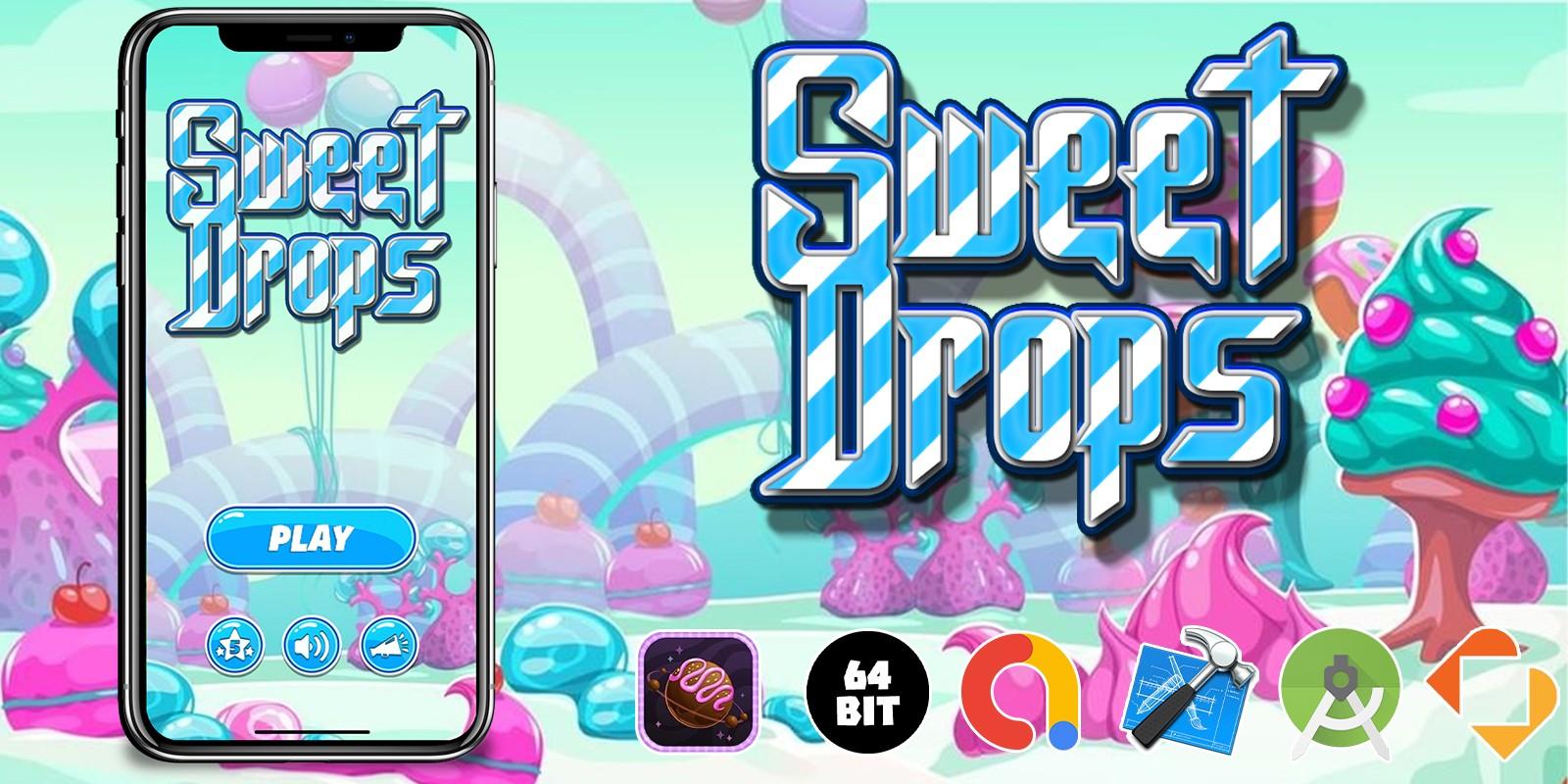 Sweet Drops - Buildbox Template