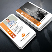 Image Business Card Template