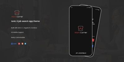 Work Corner - Job Search Ionic Theme