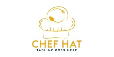 Chef Hat Logo Design