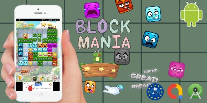 Block Mania -  Cordova Android Studio Template