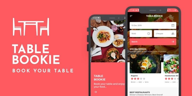 Table Bookie React Native Theme