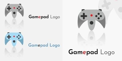 Gamepad Logo - 2 Versions