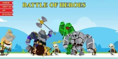 Battle Of Heroes - Complete Unity Project