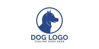 Dog Vector Logo Design