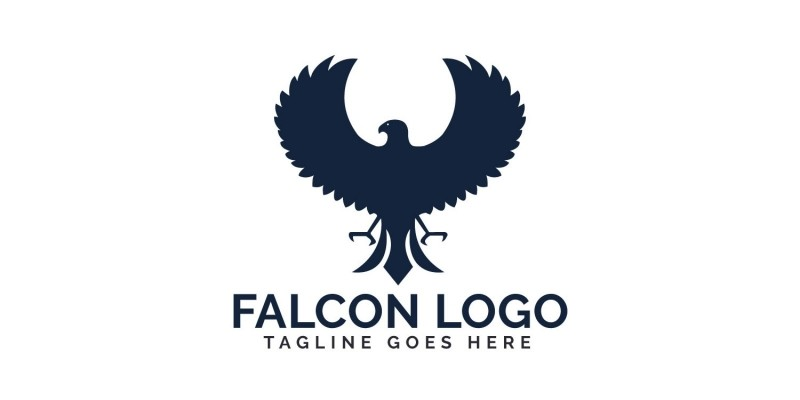 Falcon Vector Logo Design