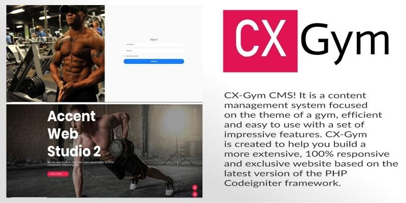 CX-Gym - Gym Content Management System