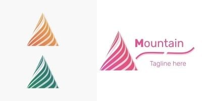 Mountain Logo - 2 Versions