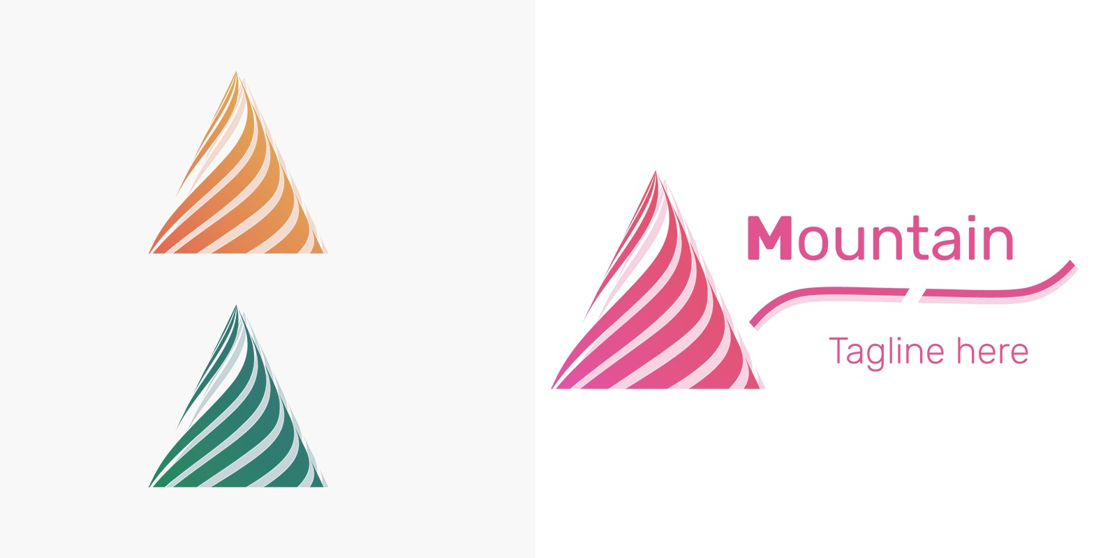 Mountain Logo - 2 Versions