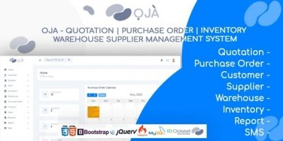 OJA  Order And Inventory Management Software
