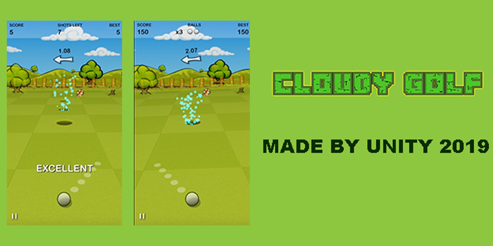Cloudy Golf - Complete Unity Project