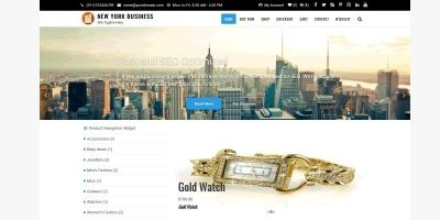 New York Business WordPress Theme