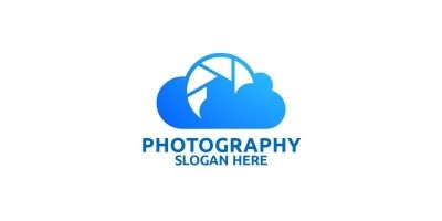 Cloud Camera Photography Logo 78