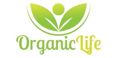 Organic Life Logo Design Template