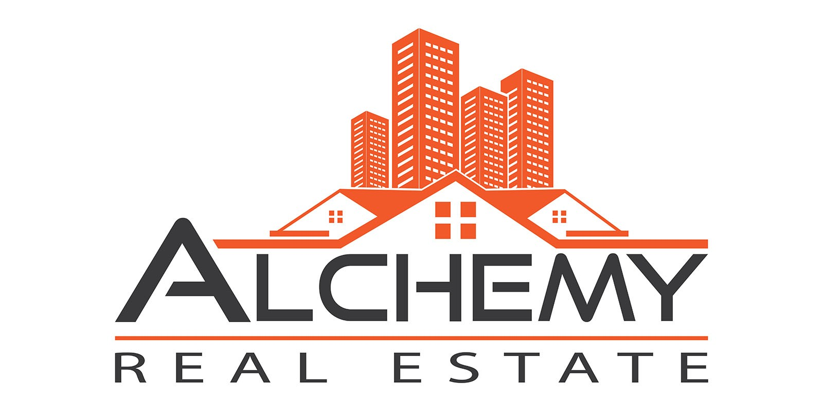 Real Estate Home Property Logo Design Template