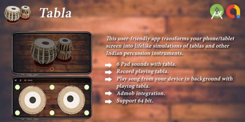 Tabla Android App Template