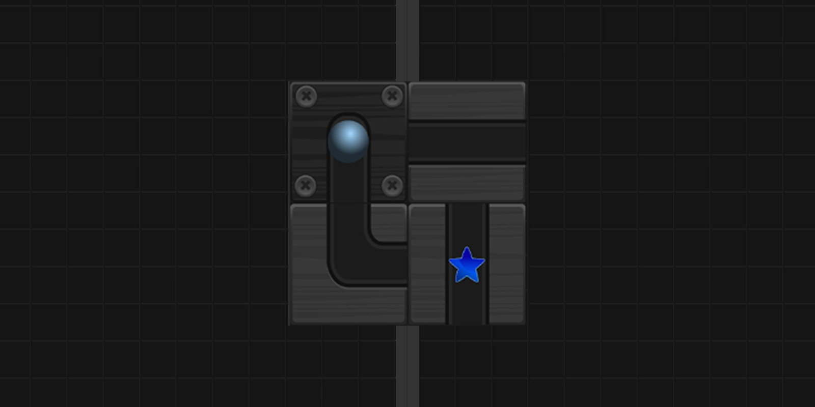 Black Roll Puzzle Unity Game Template