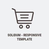 Solidum OpenCart 3 Responsive Theme