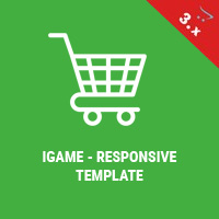 iGame OpenCart 3 Responsive Theme