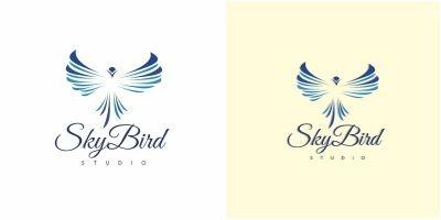 Sky Bird Logo