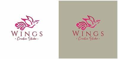 Bird Wings Logo