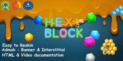 Hex  Puzzle - Android Studio Admob GDPR