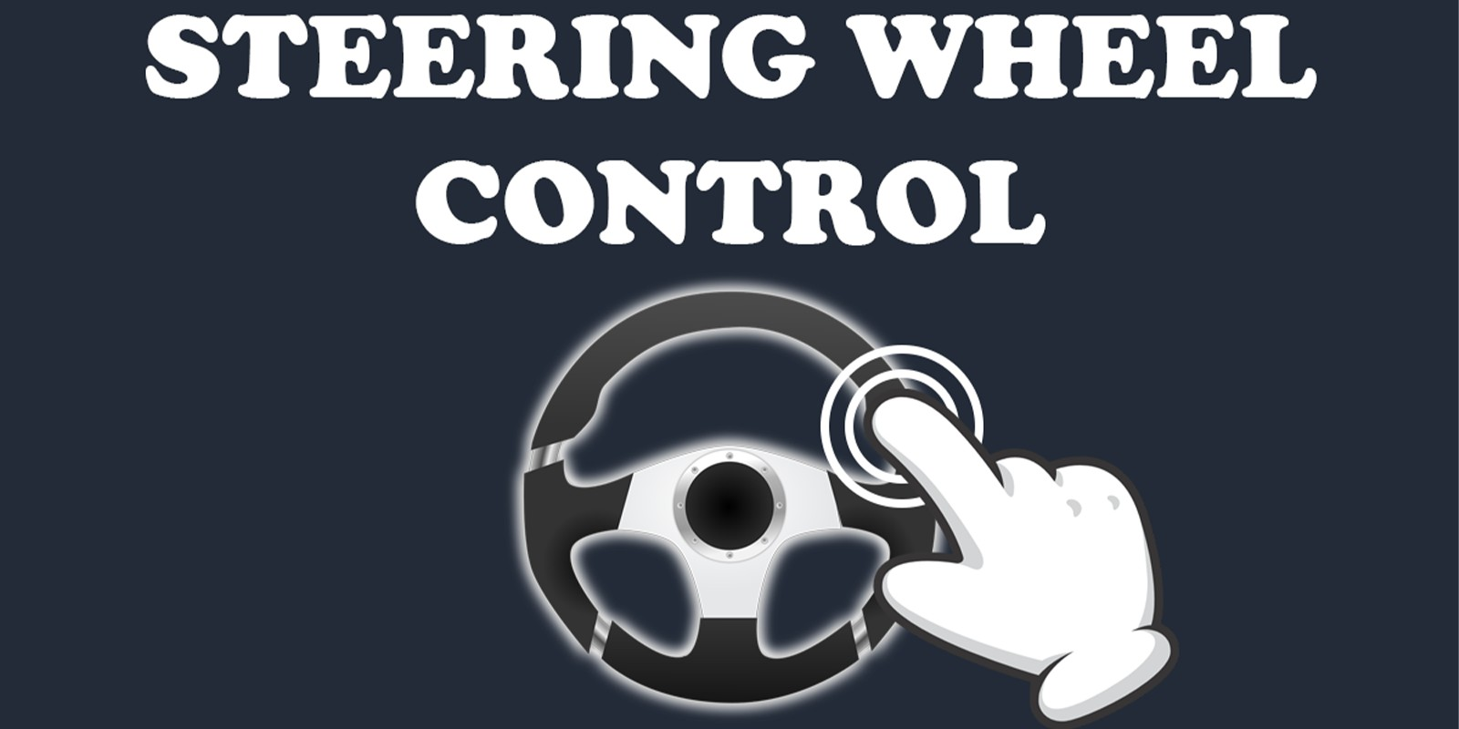 Virtual Steering Wheel Controller - Unity