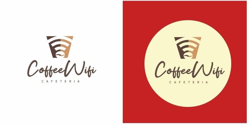 Coffee Wifi Logo