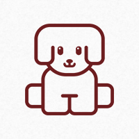 Puppy Logo Template