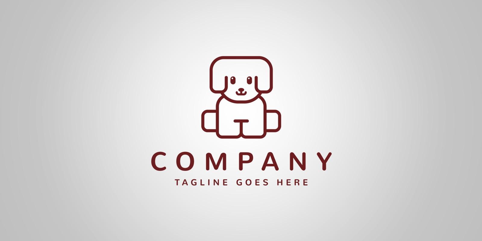 Puppy Logo Template
