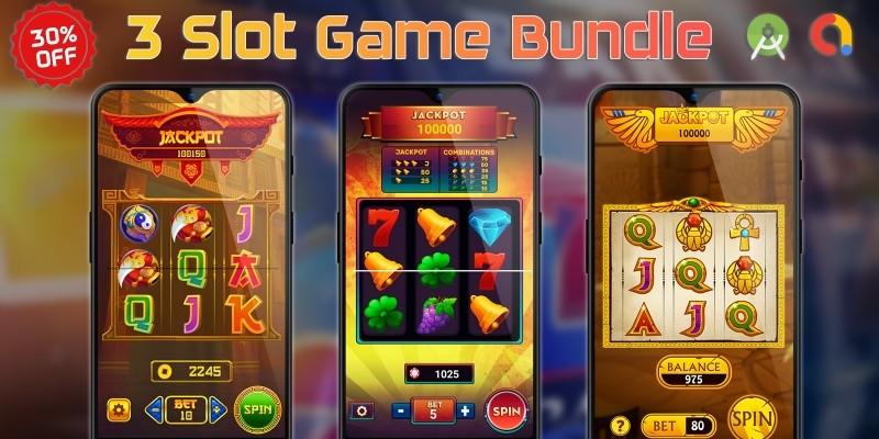 3 Slot Game Bundle Android Studio
