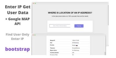 Loczer - Bootstrap PHP location of an IP Address