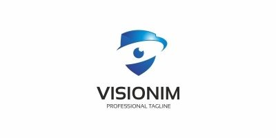 Secure Eye Camera - Logo Template