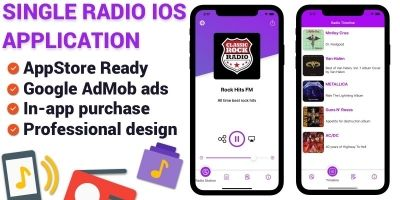 Single Station Radio - iOS App Template