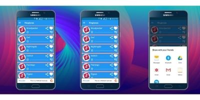 Ringtones And Soundboard Android Template