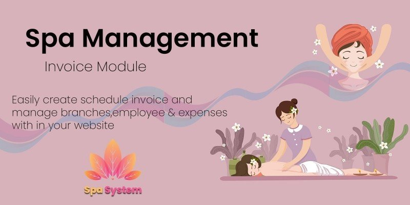 Spa Management System PHP