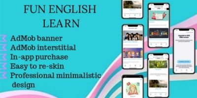 Fun English Learn - iOS App Template
