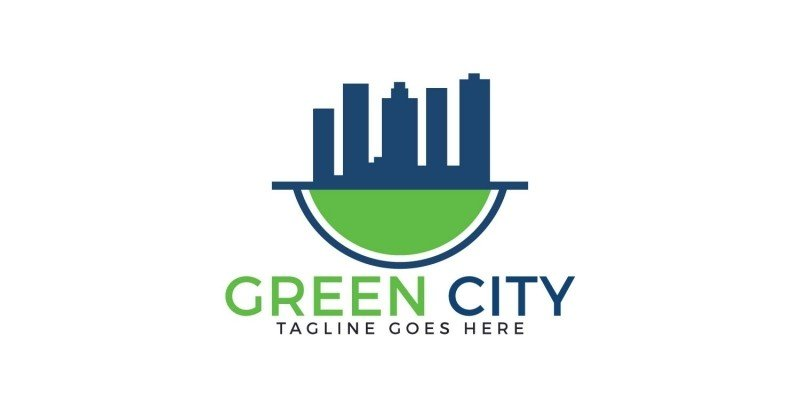Green City Logo Design