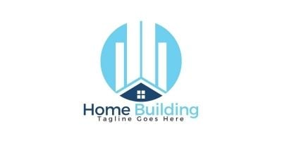 Home Building Logo Design