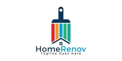 Home Renovation Logo Design