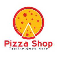 Pizza Shop Logo Design