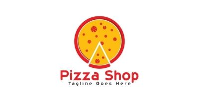 Pizza Shop Logo Design