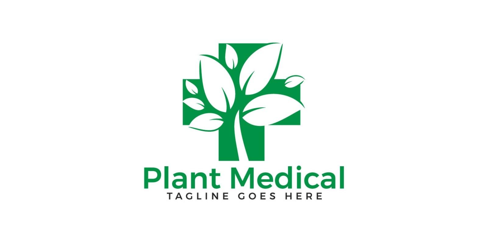 Plant Medical Logo Design