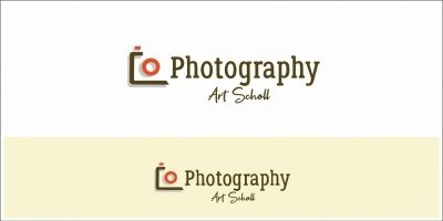 Photography Art School Logo