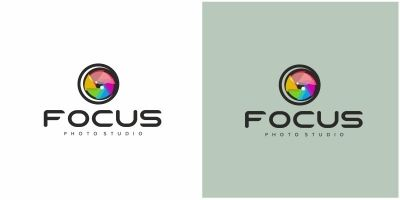 Camera Focus Logo