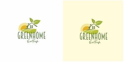 Green Eco Home Logo