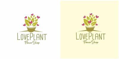 Love Plant Logo